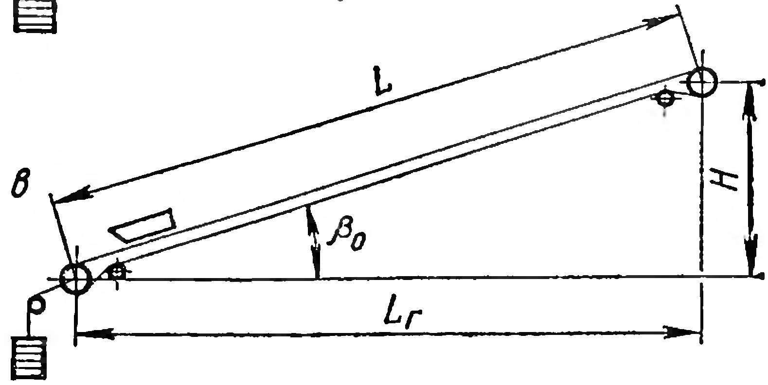 Ленточные конвейеры схемы устройства рестайлинг транспортера