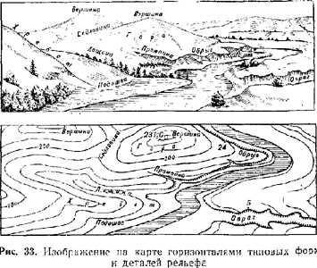 Топографическая карта - это... Что такое Топографическая карта?