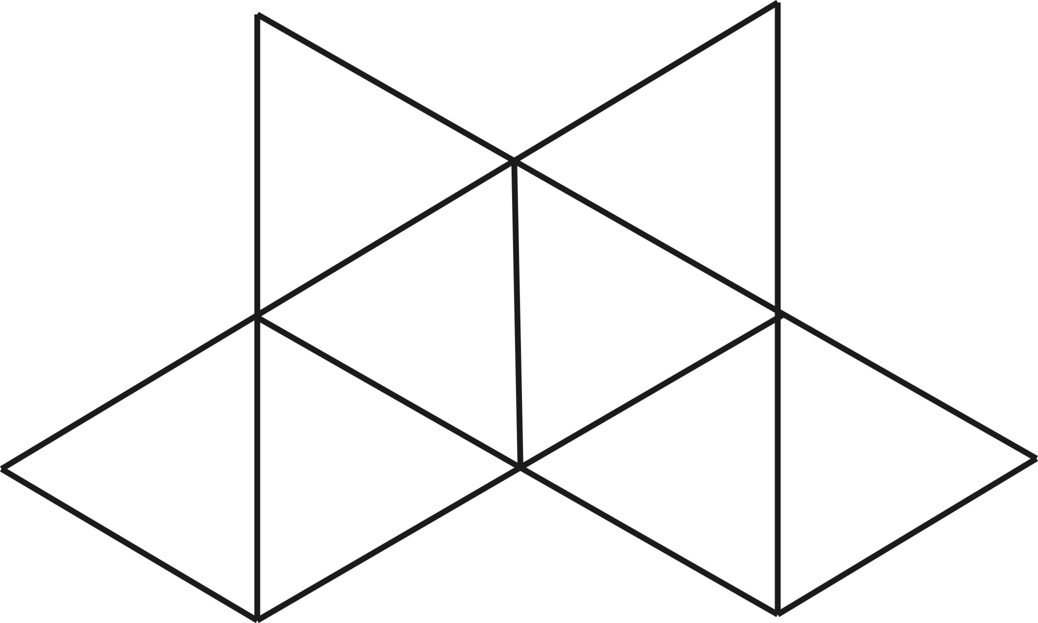 Как сделать геометрическую картинку