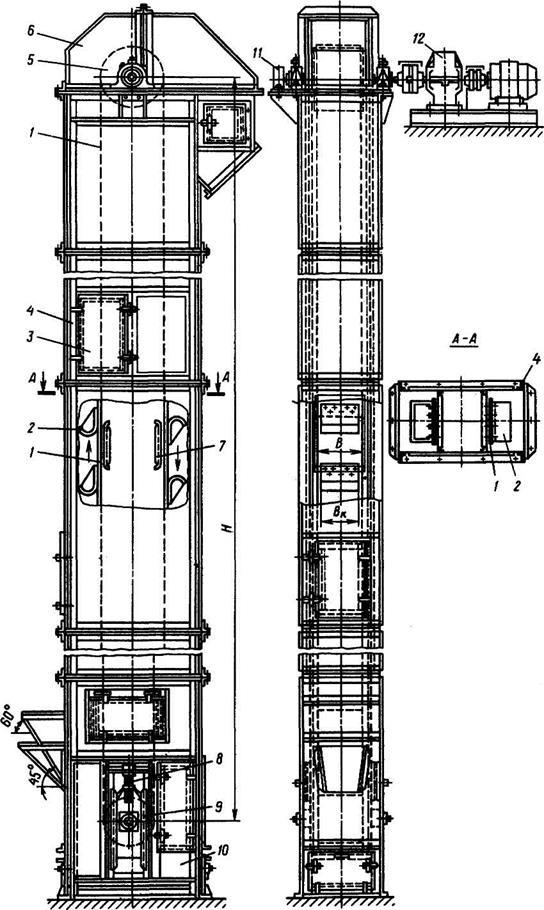 Элеватор общая характеристика купить авто транспортер т3