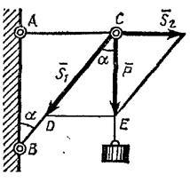 Решение задач на определение усилия в стержнях задачи с решением для пятого класса