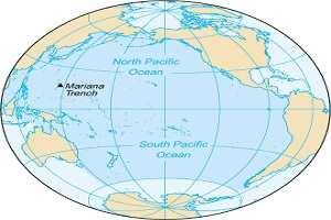 Тихий океан — самый большой океан на Земле.
