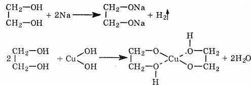 Особенности многоатомных спиртов. Биологическая роль этиленгликоля и глицерина