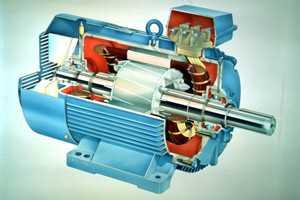 Асинхронный двигатель с короткозамкнутым ротором и фазным ротором