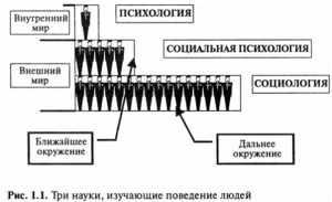 Место социологии в системе социального и гуманитарного знания
