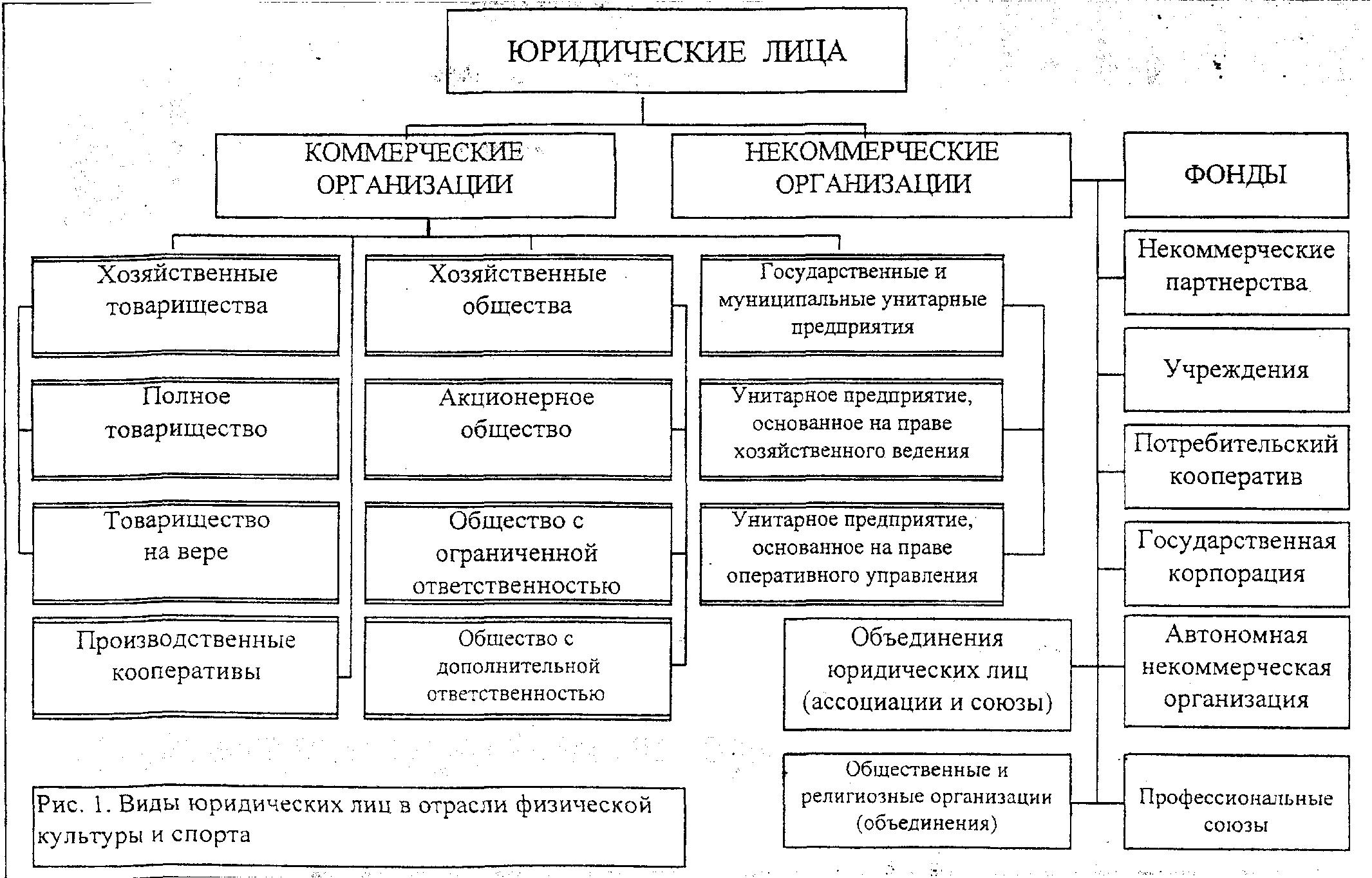 коммерческие и некоммерческие кооперативные организации