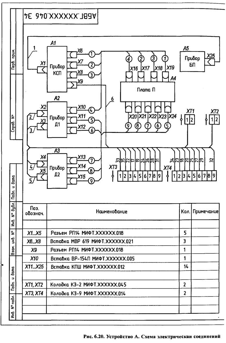 сечение кабелей обозначение