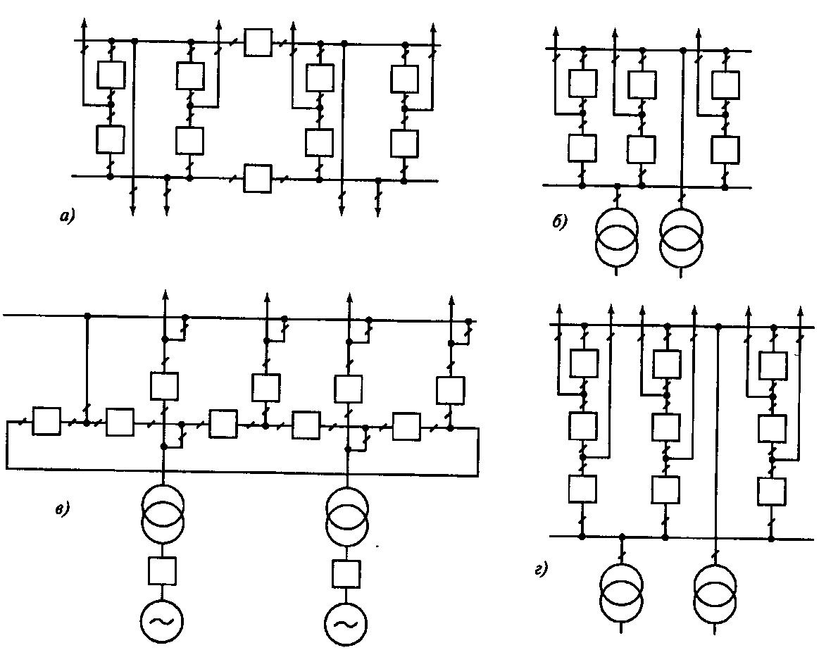 типовая схема блок трансформатор-генератор