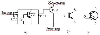 Транзисторы igbt. эквивалентная схема транзистора igbt