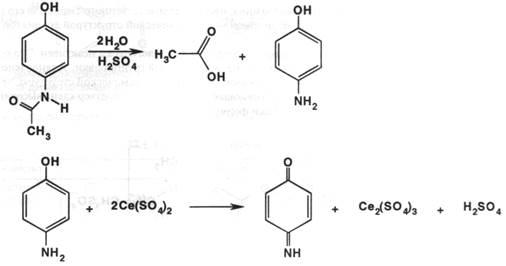 Испытание на прозрачность сульфита натрия