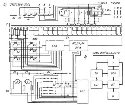 схема зарядки аккумулятора таврия