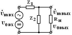 Схемы замещения пассивных фильтров